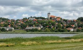 The Tihany peninsula in Hungary Stock Image