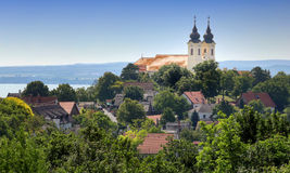 The Tihany peninsula in Hungary Royalty Free Stock Photography