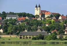 The Tihany peninsula in Hungary Stock Photography