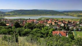 The Tihany peninsula in Hungary Stock Photo
