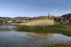 Tihany in See Balaton Lizenzfreie Stockfotos