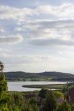 Tihany y el lago interno Imágenes de archivo libres de regalías