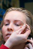 Tijd 2 van de make-up Stock Afbeeldingen