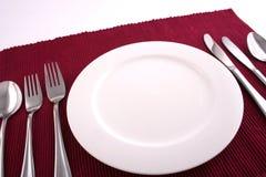 Tijd 3 van het diner Stock Afbeelding