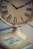 Tijd aan Dagboek Royalty-vrije Stock Afbeeldingen