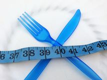 Tijd aan dieet Stock Fotografie