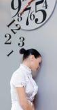 Tijd in bureau Stock Fotografie