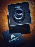 Tijd Casio Eiger Royalty-vrije Stock Fotografie