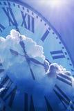 Tijd die concepten overgaat Stock Foto