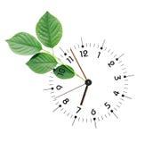 Tijd en Aard Stock Afbeelding