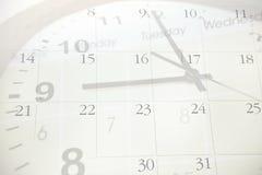 Tijd en kalender Stock Foto