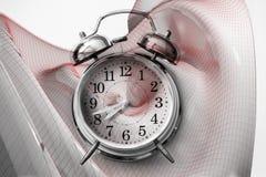Tijd en Ruimteconcept - de Oppervlakte komt uit het 3D teruggeven Stock Afbeelding