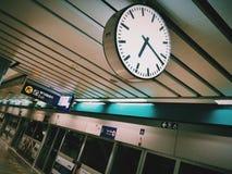 Tijd en Uitgang Stock Afbeelding