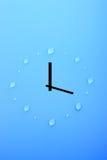 Tijd en water royalty-vrije stock afbeelding
