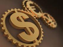Tijd - Geld Royalty-vrije Stock Fotografie