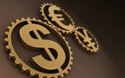 Tijd - (loopable) geld Royalty-vrije Stock Afbeelding