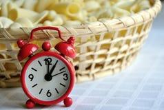 Tijd om lunch te eten Stock Foto's