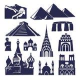 Tijd om pictogram te reizen groot voor om het even welk gebruik Vector eps10 Stock Afbeeldingen