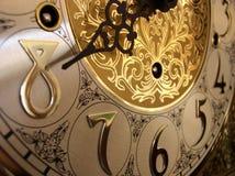 Tijd op een staand horloge Royalty-vrije Stock Afbeeldingen