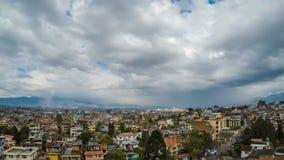 Tijd-tijdspanne van Katmandu in Nepal stock footage