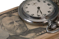 Tijd van geld Royalty-vrije Stock Fotografie