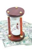 Tijd van geld stock fotografie