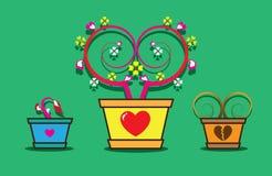 Tijd van liefde Royalty-vrije Stock Afbeelding