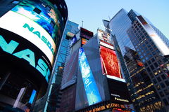 Tijd Vierkant New York Royalty-vrije Stock Foto's