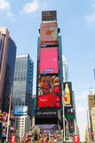 Tijd Vierkant New York Stock Foto's