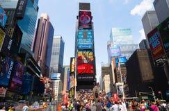 Tijd Vierkant New York Stock Fotografie