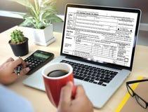 Tijd voor Belastingen de Financiële Boekhoudingsbelastingheffing Busi van het Planningsgeld royalty-vrije stock afbeeldingen