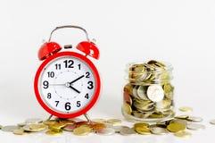 Tijd voor besparingen Stock Afbeelding