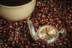 Tijd voor coffe Stock Afbeelding