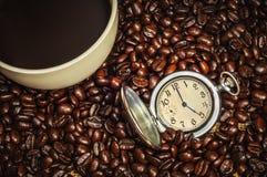Tijd voor coffe Royalty-vrije Stock Afbeeldingen