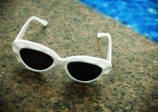Tijd voor de zomervakantie (retro stijl) Stock Foto's