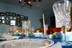 Tijd voor diner Stock Afbeeldingen