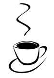 Tijd voor koffie vector illustratie