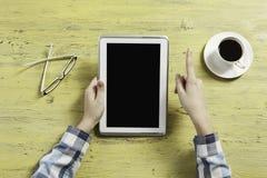 Tijd voor koffie en praatje royalty-vrije stock afbeeldingen