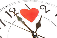 Tijd voor liefde Stock Afbeelding