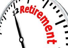Tijd voor pensionering Stock Fotografie
