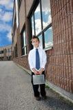 Tijd voor school Stock Foto