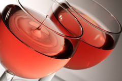 Tijd voor wijn Stock Foto