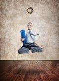 Tijd voor yoga Stock Afbeelding