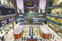 Tijd Warner Center Stock Foto's