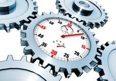 Tijdconcept stock illustratie