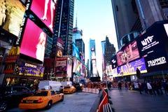 Tijden vierkant New York Stock Afbeeldingen