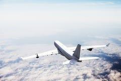 Tijdens de vlucht Royalty-vrije Stock Afbeeldingen