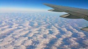 Tijdens de vlucht royalty-vrije stock afbeelding