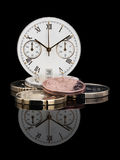 Tijdgeld Royalty-vrije Stock Foto