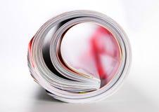 Tijdschrift stock foto